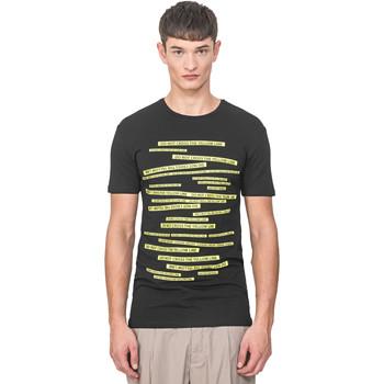 Îmbracaminte Bărbați Tricouri mânecă scurtă Antony Morato MMKS01749 FA120001 Negru