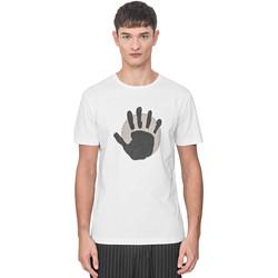 Îmbracaminte Bărbați Tricouri mânecă scurtă Antony Morato MMKS01765 FA100144 Alb