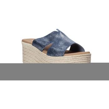 Pantofi Femei Papuci de vară Valleverde 34270 Albastru