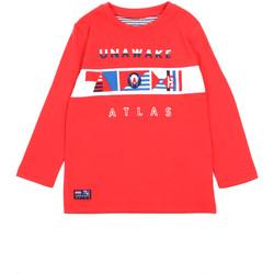 Îmbracaminte Fete Tricouri cu mânecă lungă  Losan 015-1002AL Roșu