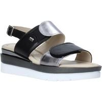 Pantofi Femei Sandale  Valleverde 32141 Negru