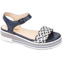 Pantofi Femei Sandale  Valleverde 15150 Albastru