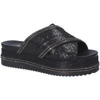 Pantofi Femei Papuci de vară Exé Shoes G41006097884 Negru