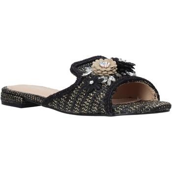 Pantofi Femei Papuci de vară Gold&gold A20 GK35 Negru