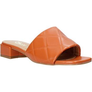 Pantofi Femei Papuci de vară Grace Shoes 971Y001 Portocale