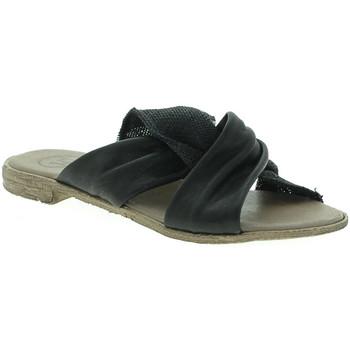 Pantofi Femei Papuci de vară 18+ 6113 Negru