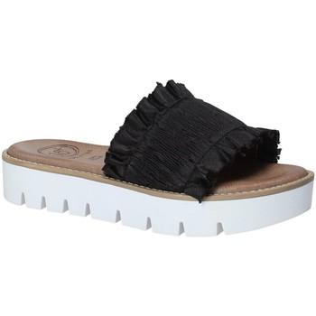 Pantofi Femei Papuci de vară 18+ 5812 Negru