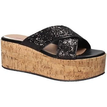 Pantofi Femei Papuci de vară Fornarina PE18RO2916 Negru