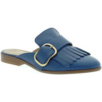 Pantofi Femei Saboti Mally 6116 Albastru