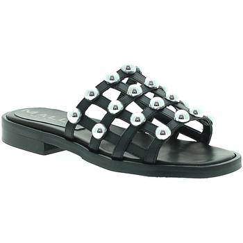 Pantofi Femei Papuci de vară Mally 6141 Negru