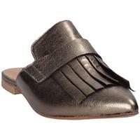 Pantofi Femei Saboti Mally 6173 Gri