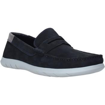Pantofi Bărbați Mocasini Impronte IM01083A Albastru