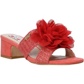 Pantofi Femei Papuci de vară Love To Love EVA5106 Roșu