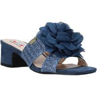 Pantofi Femei Papuci de vară Love To Love EVA579 Albastru