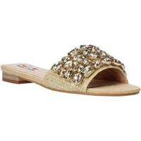 Pantofi Femei Papuci de vară Love To Love ALE 1177 Maro