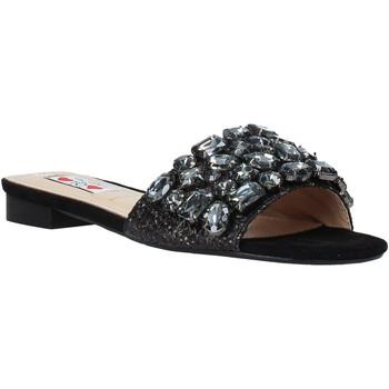 Pantofi Femei Papuci de vară Love To Love ALE 183 Negru