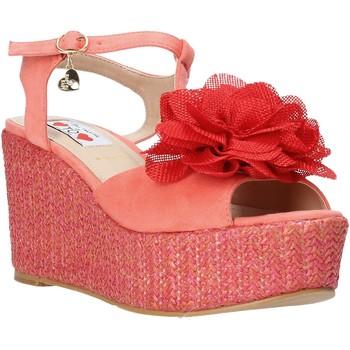 Pantofi Femei Sandale  Love To Love GIN5106 Roșu