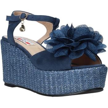 Pantofi Femei Sandale  Love To Love GIN579 Albastru