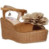 Pantofi Femei Sandale  Love To Love GIN575 Maro