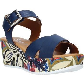 Pantofi Femei Sandale  Grace Shoes 12 Albastru