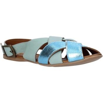 Pantofi Femei Sandale  Bueno Shoes 9J2103 Albastru