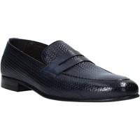Pantofi Bărbați Mocasini Exton 1021 Albastru