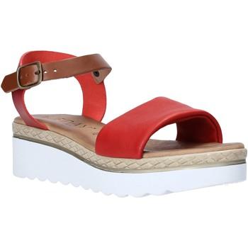 Pantofi Femei Sandale  Jeiday 1278-9696 Roșu