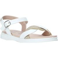 Pantofi Fete Sandale  Miss Sixty S20-SMS764 Alb