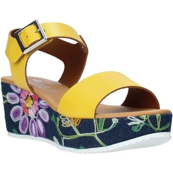 Pantofi Femei Sandale  Grace Shoes 02 Galben