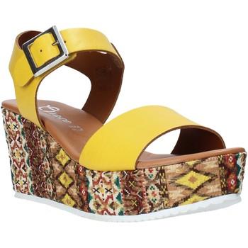 Pantofi Femei Sandale  Grace Shoes 06 Galben
