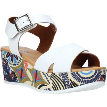 Pantofi Femei Sandale  Grace Shoes 12 Alb