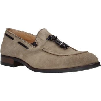Pantofi Bărbați Mocasini Exton 1111 Bej