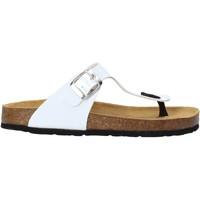 Pantofi Copii  Flip-Flops Bamboo BAM-222 Alb