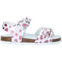 Pantofi Fete Sandale  Grunland SB1535 Alb