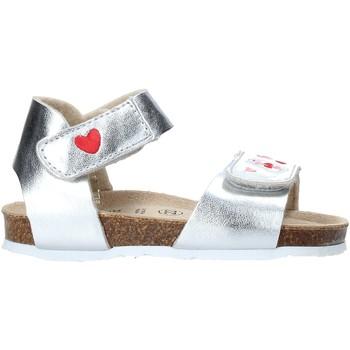 Pantofi Fete Sandale  Grunland SB1546 Argint