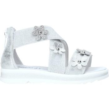 Pantofi Fete Sandale  Nero Giardini E031604F Argint