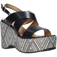 Pantofi Femei Sandale  Grace Shoes 104010 Negru