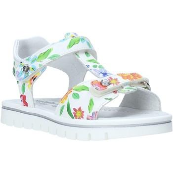 Pantofi Fete Sandale  NeroGiardini E031614F Alb