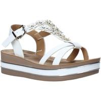 Pantofi Fete Sandale  Joli JT0085S Alb