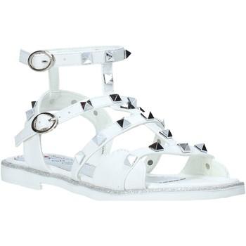Pantofi Fete Sandale  Joli JT0079S Alb