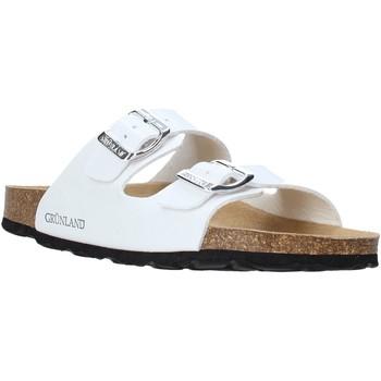Pantofi Femei Papuci de vară Grunland CB1035 Alb
