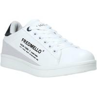 Pantofi Copii Pantofi sport Casual Fred Mello S20-SFK313 Alb