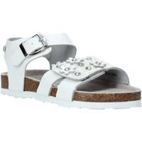 Pantofi Fete Sandale  Miss Sixty S20-SMS795 Alb