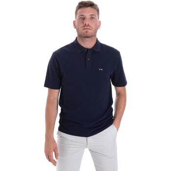 Îmbracaminte Bărbați Tricou Polo mânecă scurtă Les Copains 9U9023 Albastru