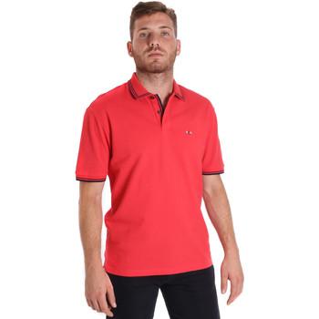 Îmbracaminte Bărbați Tricou Polo mânecă scurtă Les Copains 9U9020 Roșu