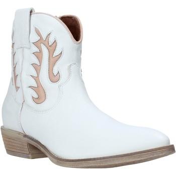 Pantofi Femei Botine Mally 6629S Alb
