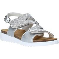 Pantofi Fete Sandale  Grunland SB1559 Argint