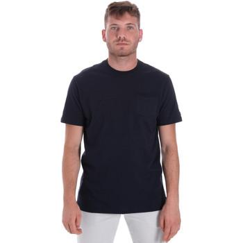 Îmbracaminte Bărbați Tricouri mânecă scurtă Les Copains 9U9010 Albastru