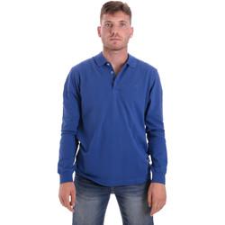 Îmbracaminte Bărbați Tricou Polo manecă lungă Navigare NV82109 Albastru