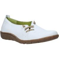 Pantofi Femei Balerin și Balerini cu curea Grunland SC2694 Alb